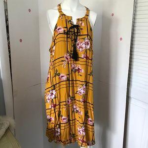 J for Justify Summer Hawaiian dress Sz 3X (L-70)